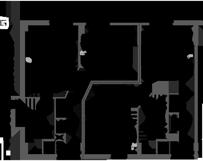 Superior One Bedroom Suite Floor Plan