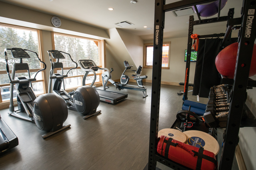 Amenities - Banff Fitness Room