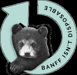 Banff isnt disposable Logo
